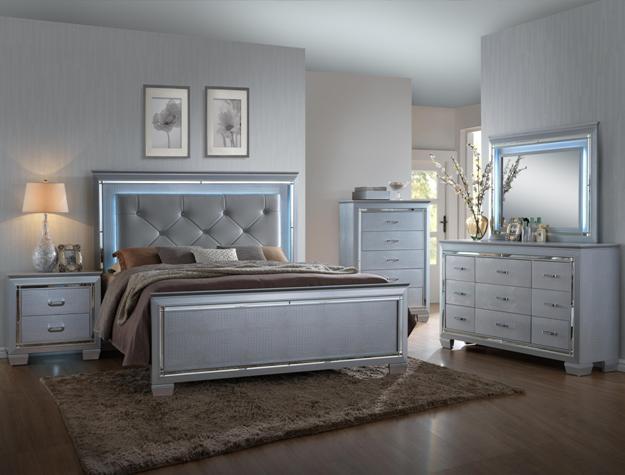 B7100 Lillian 5 Piece Bedroom Queen Direct Discount Furniture